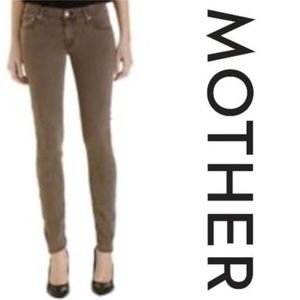 Mother The Looker Skinny Jean in Dye Clay Wash 24
